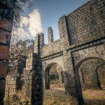 廃墟の美「持倉鉱山」ラピュタ&ドラクエの古城の世界観